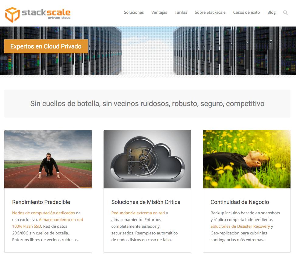 stackscale web