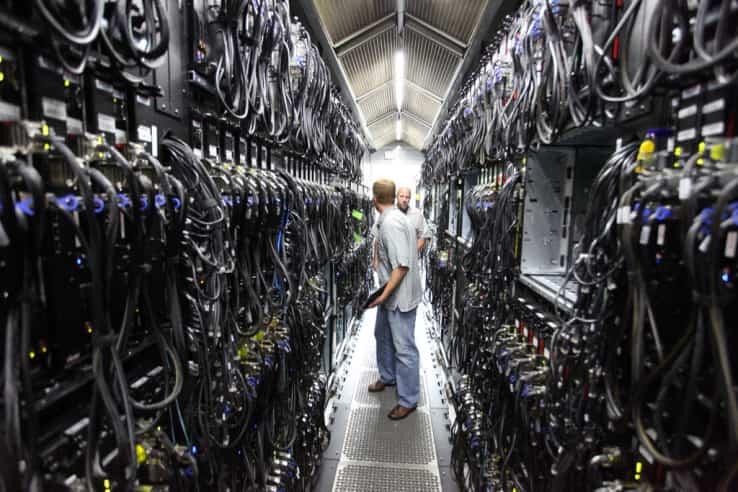 centro de datos rackspace