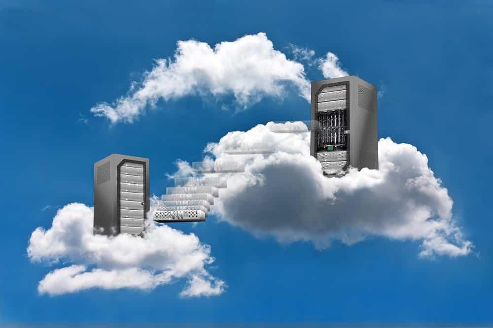 cloud hosting en la nube