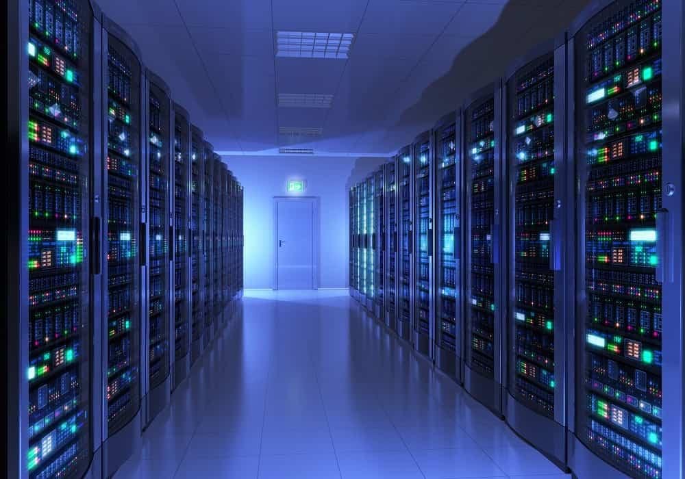 sala de servidores dedicados