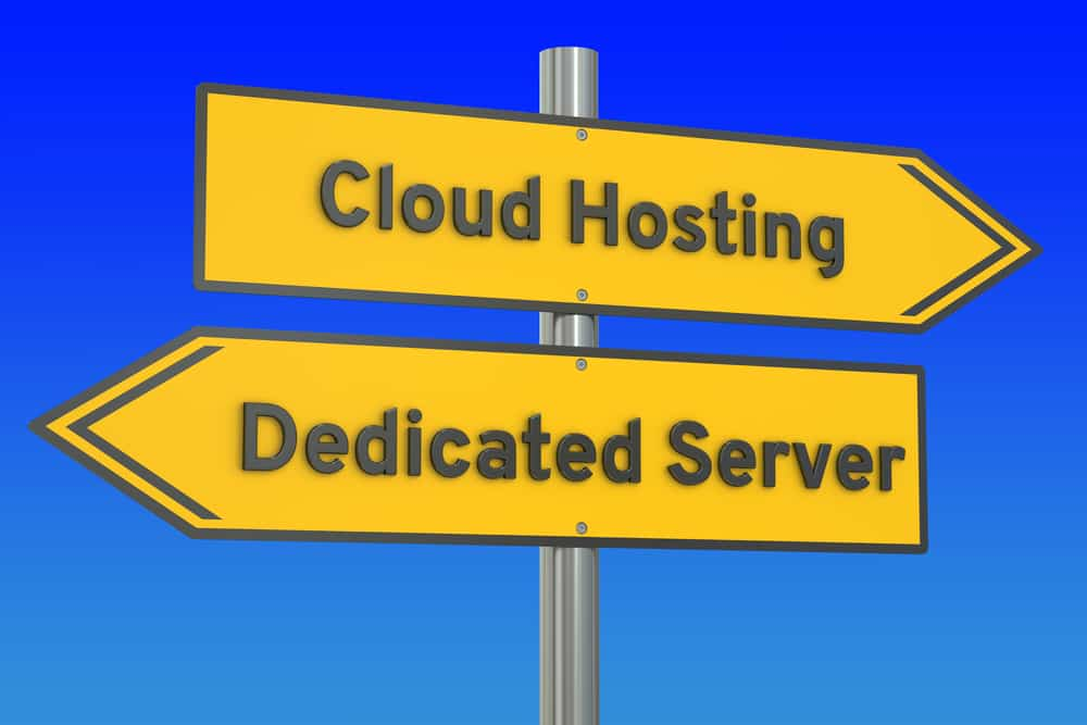 servidor dedicado vs cloud server