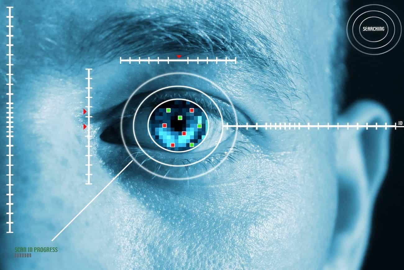 escaner del iris