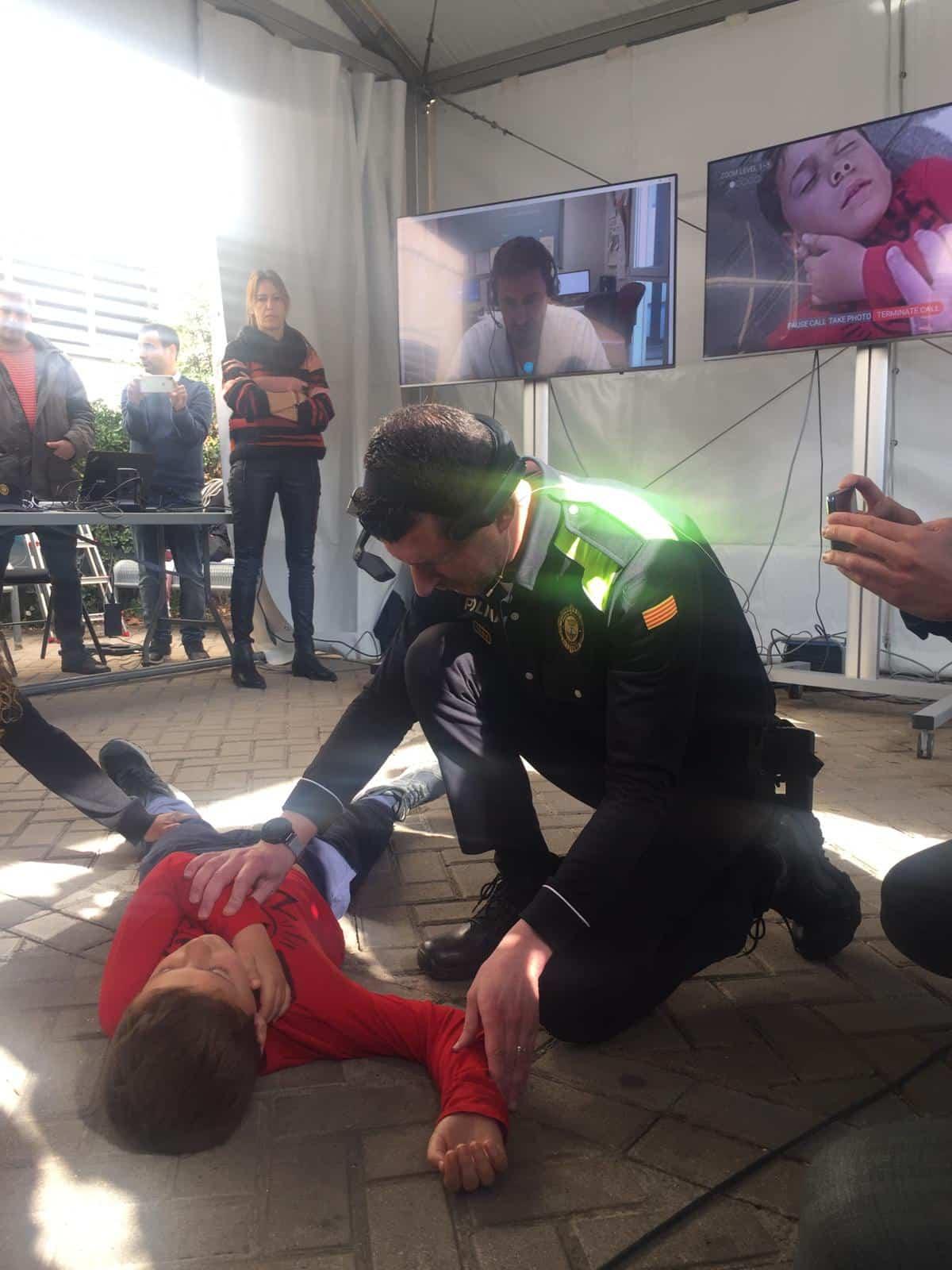 la tecnologia 5g permitira que la policia municipal de atencion sanitaria de urgencias en tiempo real 2